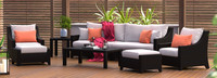 Deco™ 8 Piece Sofa and Club Chair Set - Cast Coral