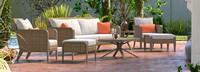 Grantina™ 7 Piece Sofa & Club Chair Set - Centered Ink
