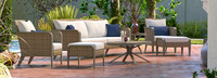 Grantina™ 7 Piece Sofa & Club Chair Set - Cast Coral