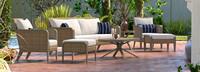 Grantina™ 7 Piece Sofa & Club Chair Set - Sunset Red