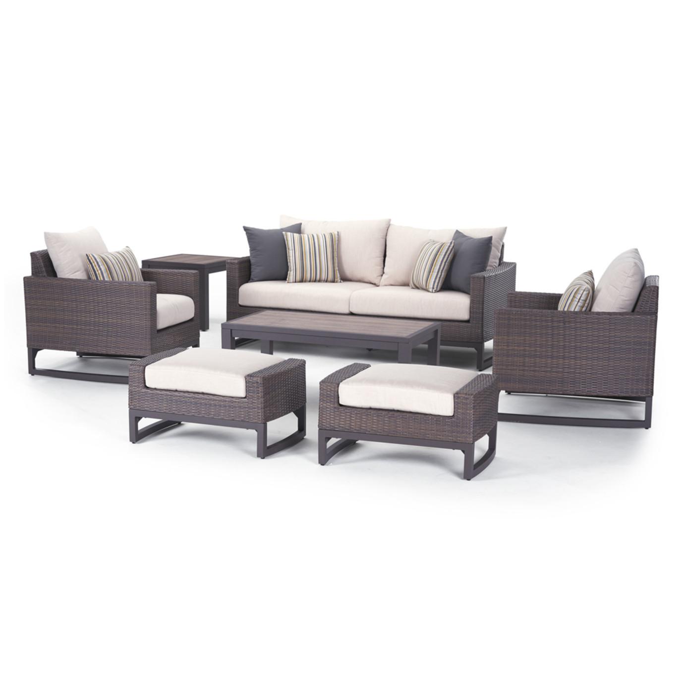 Milea 7 Piece Seating Set