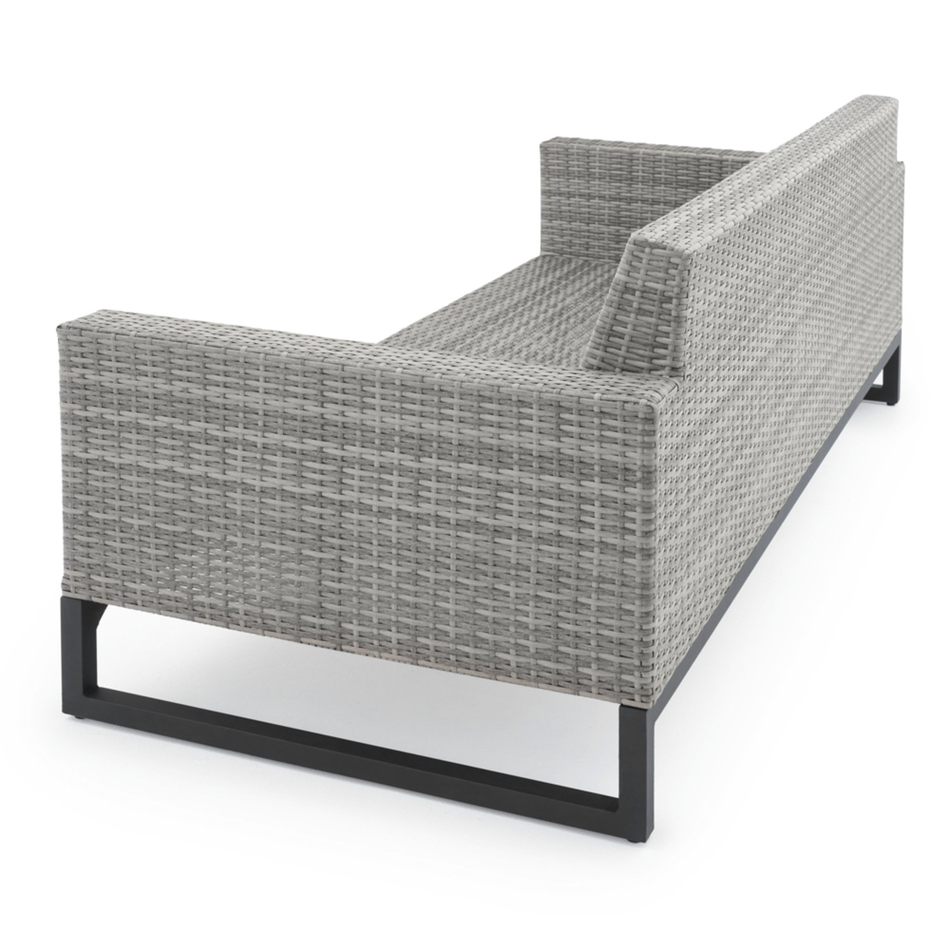 Milo™ Grey 7pc Deep Seating Set - Charcoal Grey