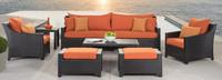 Deco™ 8 Piece Sofa and Club Chair Set - Moroccan Cream