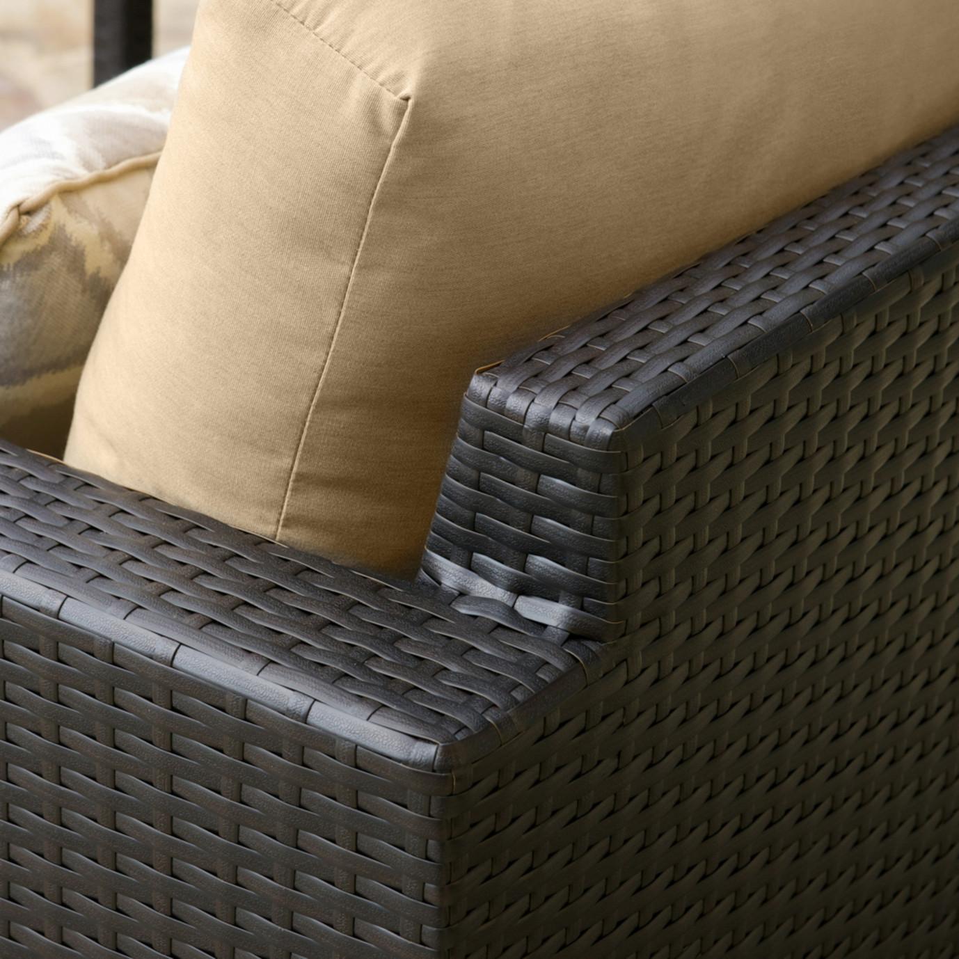 ... Portofino™ Comfort 7pc Deep Seating Set - Heather Beige ... - Portofino Comfort 7pc Set - Heather BeigeRST Brands