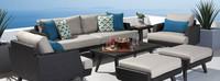 Portofino® Casual 7 Piece Seating Set - Dove Gray