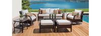 Barcelo™ 7 Piece Motion Club Deep Seating Set - Moroccan Cream