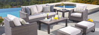 Milea™ 7 Piece Motion Seating Set - Natural Beige