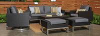 Milo™ Espresso 7 Piece Motion Deep Seating Set - Maxim Beige
