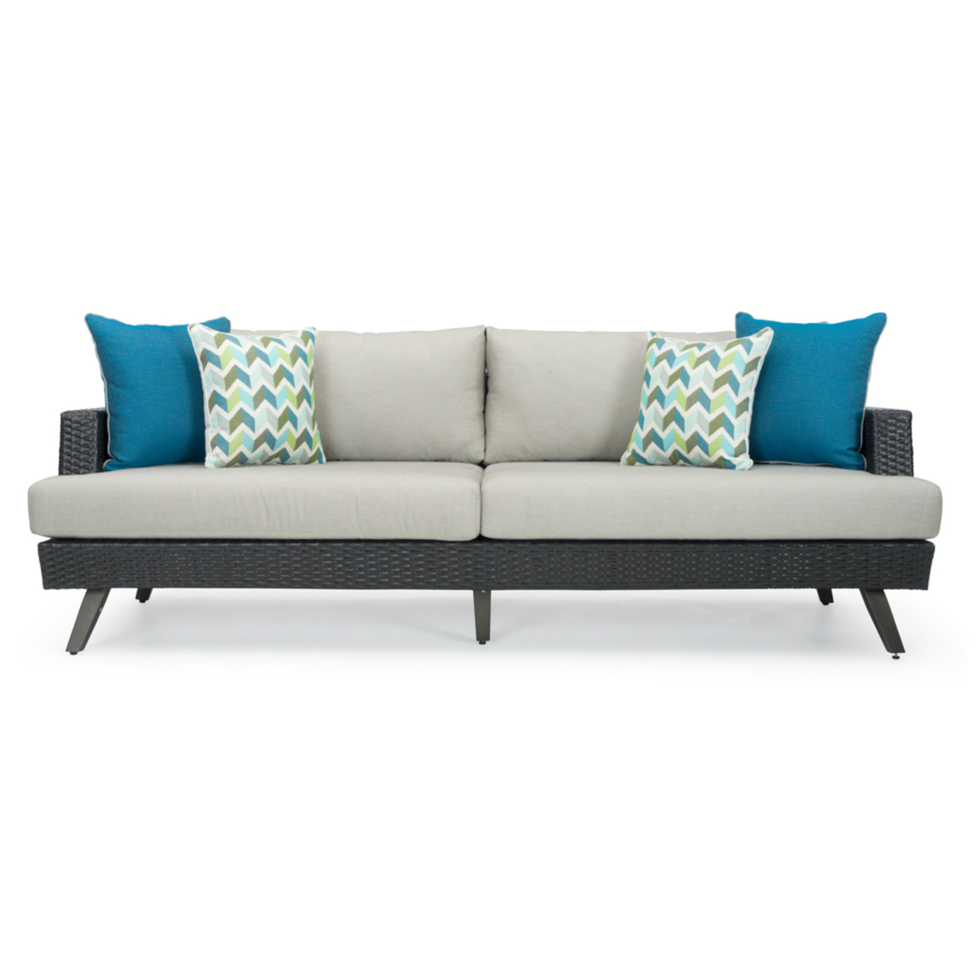 Portofino® Casual 7 Piece Motion Seating Set - Dove Gray