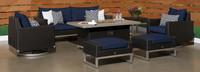 Milo™ Espresso 7 Piece Motion Fire Set - Spa Blue