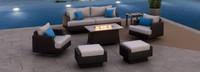 Portofino® Repose 7pc Motion Fire Seating Set - Dove Gray