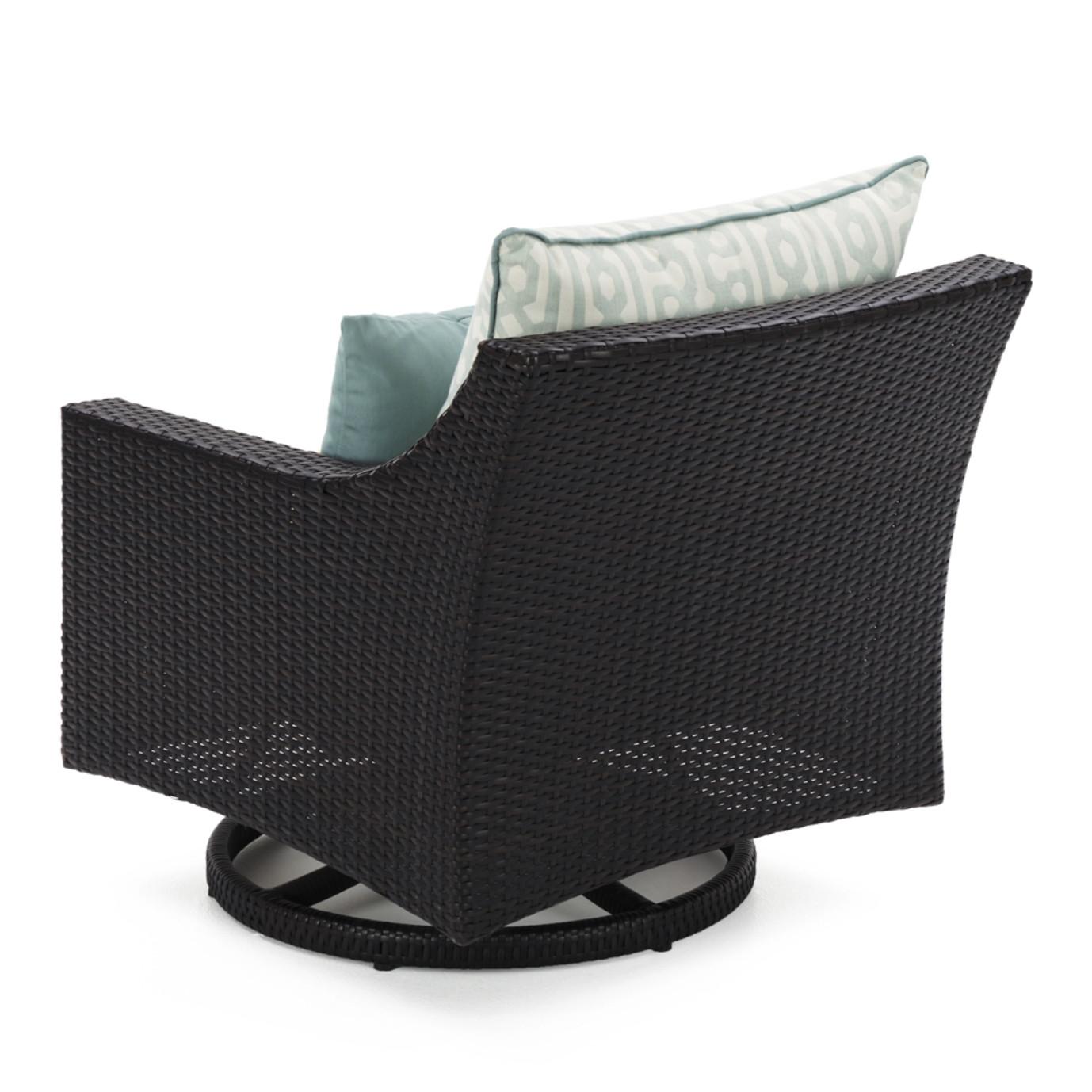 Deco™ 8pc Sofa & Club Chair Set - Spa Blue Design