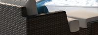 Portofino® Repose 7 Piece Motion Seating Set - Dove Gray