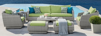 Cannes™ 8 Piece Sofa & Club Chair Set - Gray