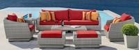 Cannes™ 8 Piece Sofa & Club Chair Set - Maxim Beige