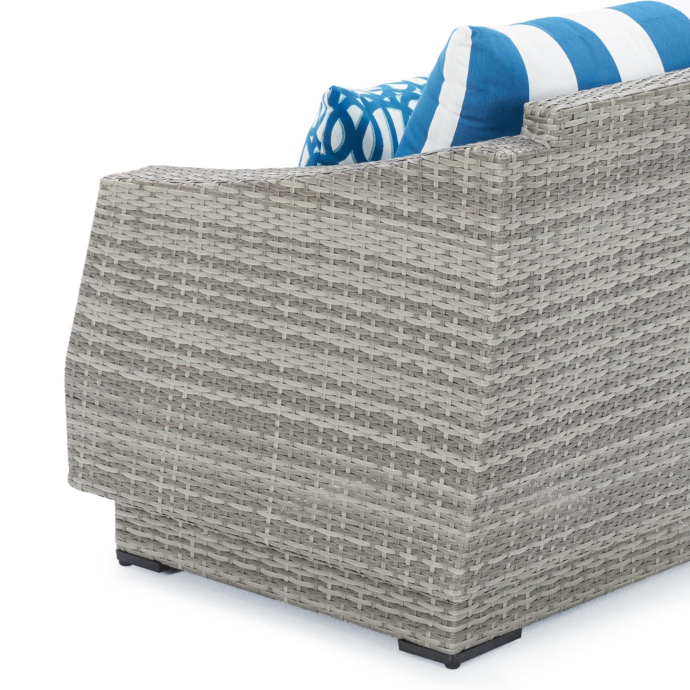 Cannes™ 8pc Sofa & Club Chair Set- Regatta Blue