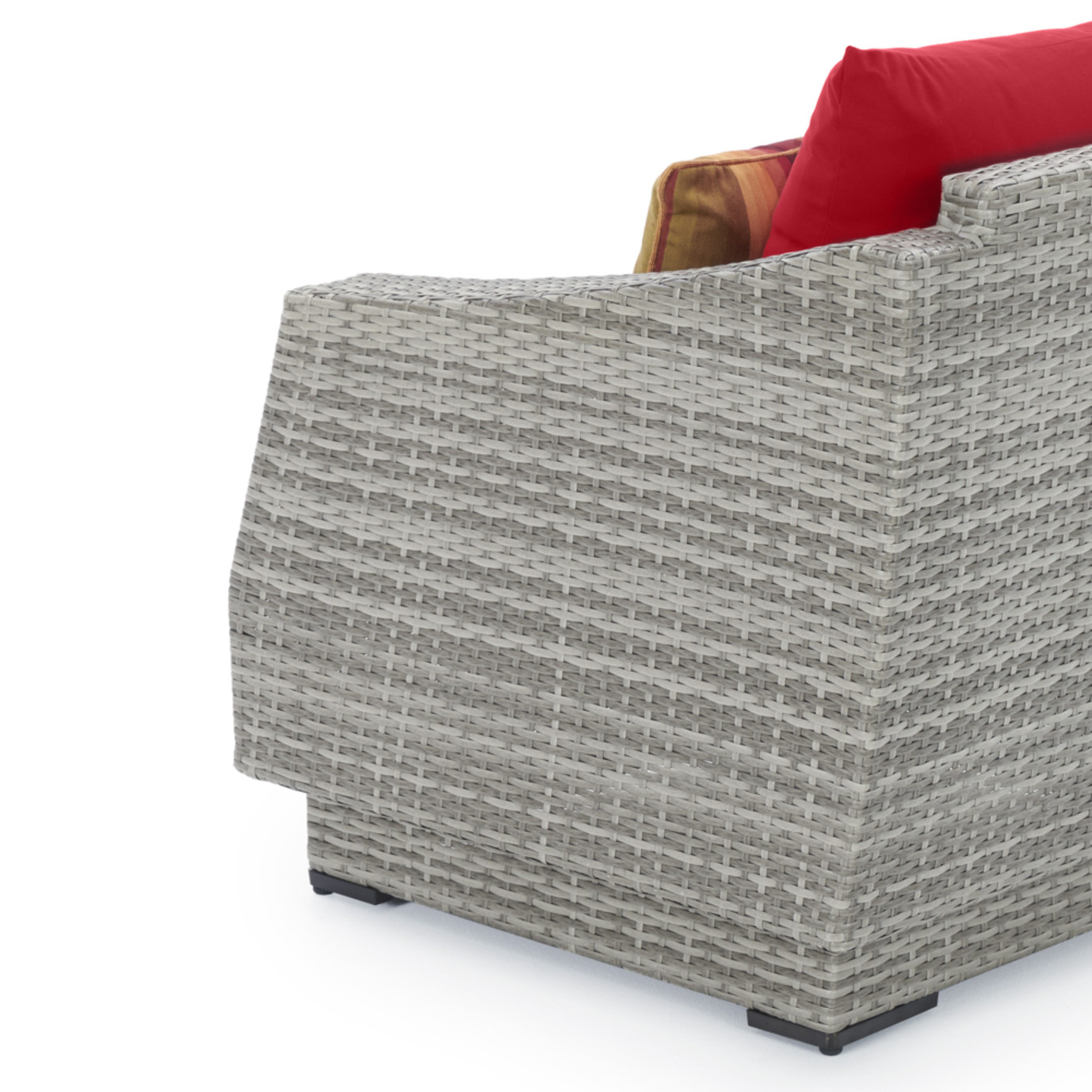 Cannes™ 8pc Sofa & Club Chair Set - Sunset Red