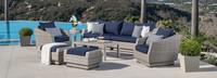 Cannes™ 8 Piece Sofa & Club Chair Set - Tikka Orange