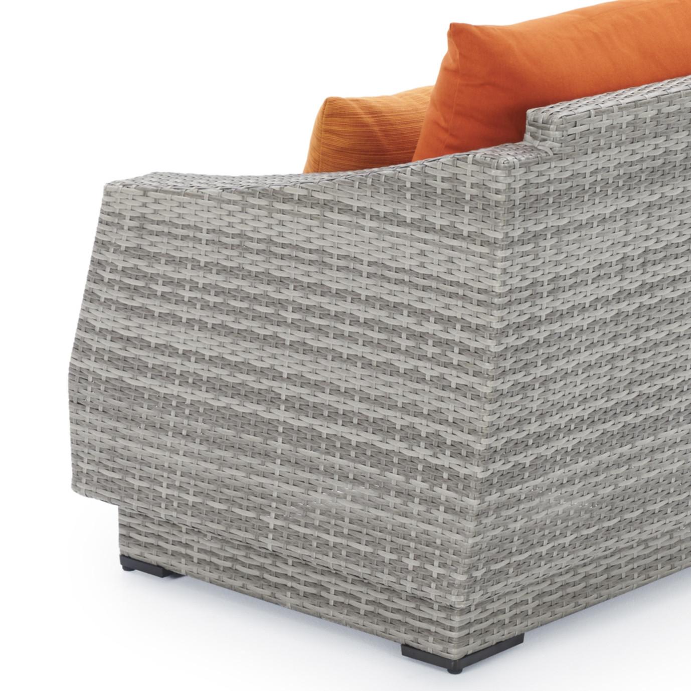 Cannes™ 8pc Sofa & Club Chair Set - Tikka Orange