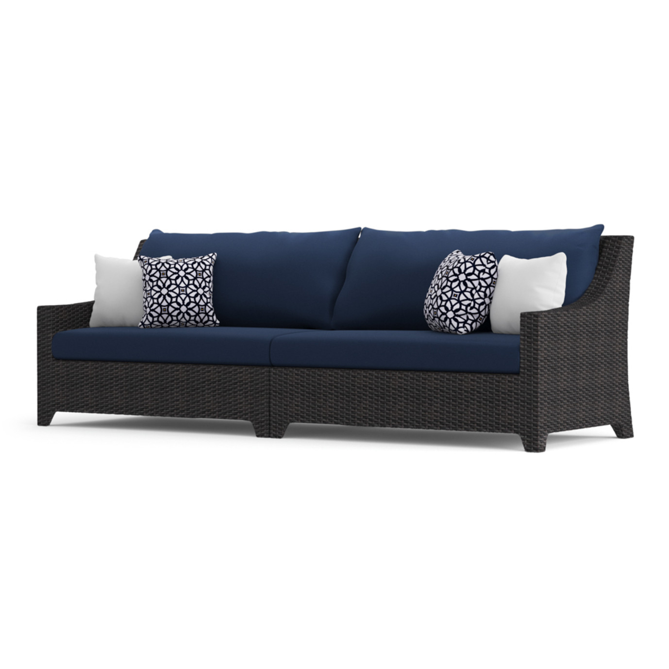 Deco™ Wood 8pc Sofa & Club Chair Set - Navy Blue