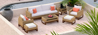 Mili™ 8 Piece Deep Seating Set - Cast Coral