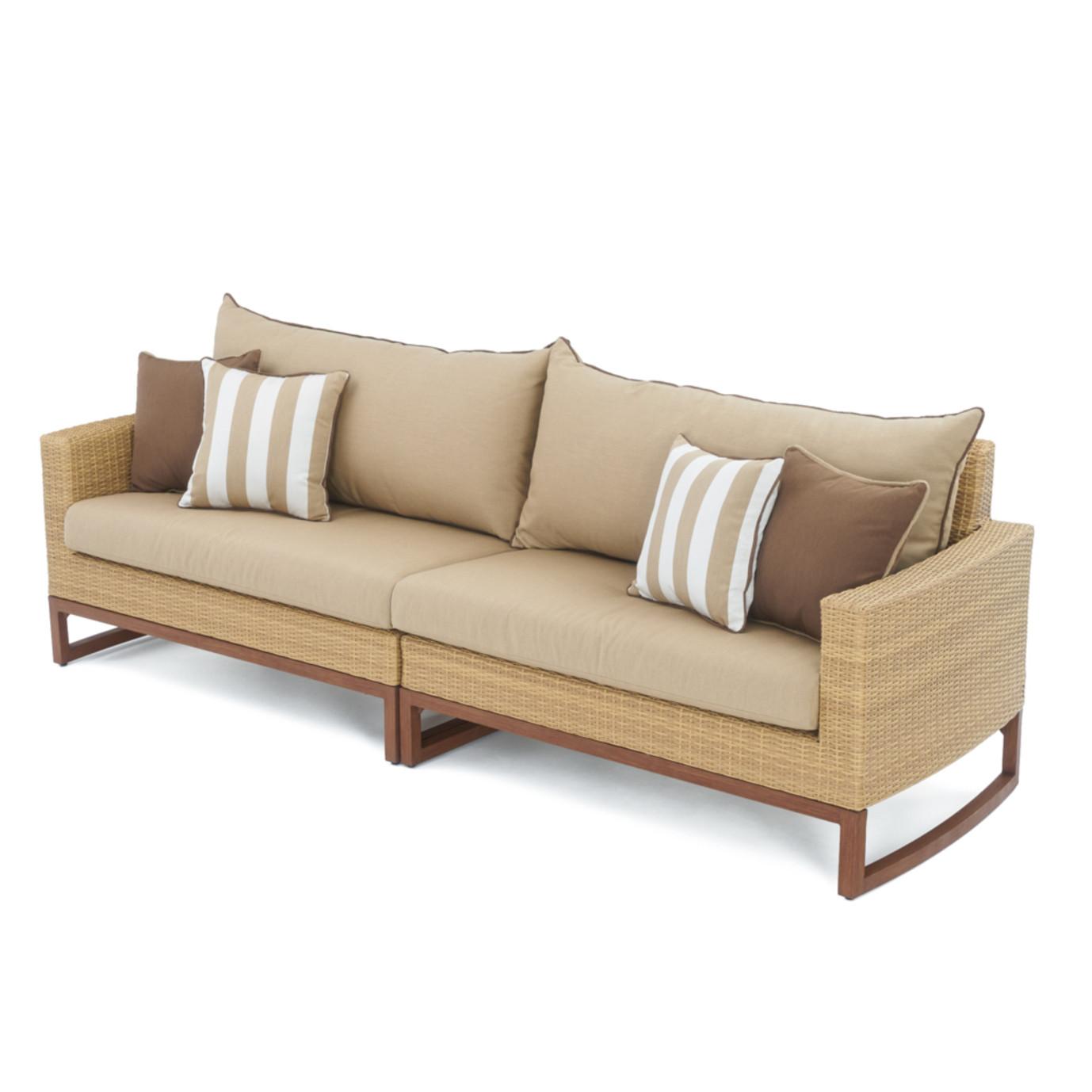 Mili™ 8pc Deep Seating Set - Maxim Beige