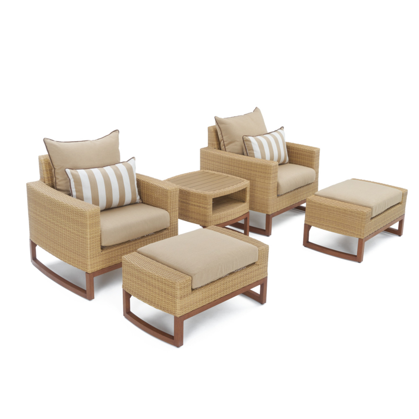 Milea™ 8pc Deep Seating Set - Maxim Beige