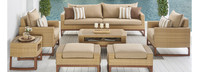 Mili™ 8 Piece Deep Seating Set - Navy Blue