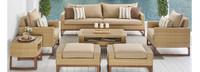 Mili™ 8 Piece Deep Seating Set - Tikka Orange