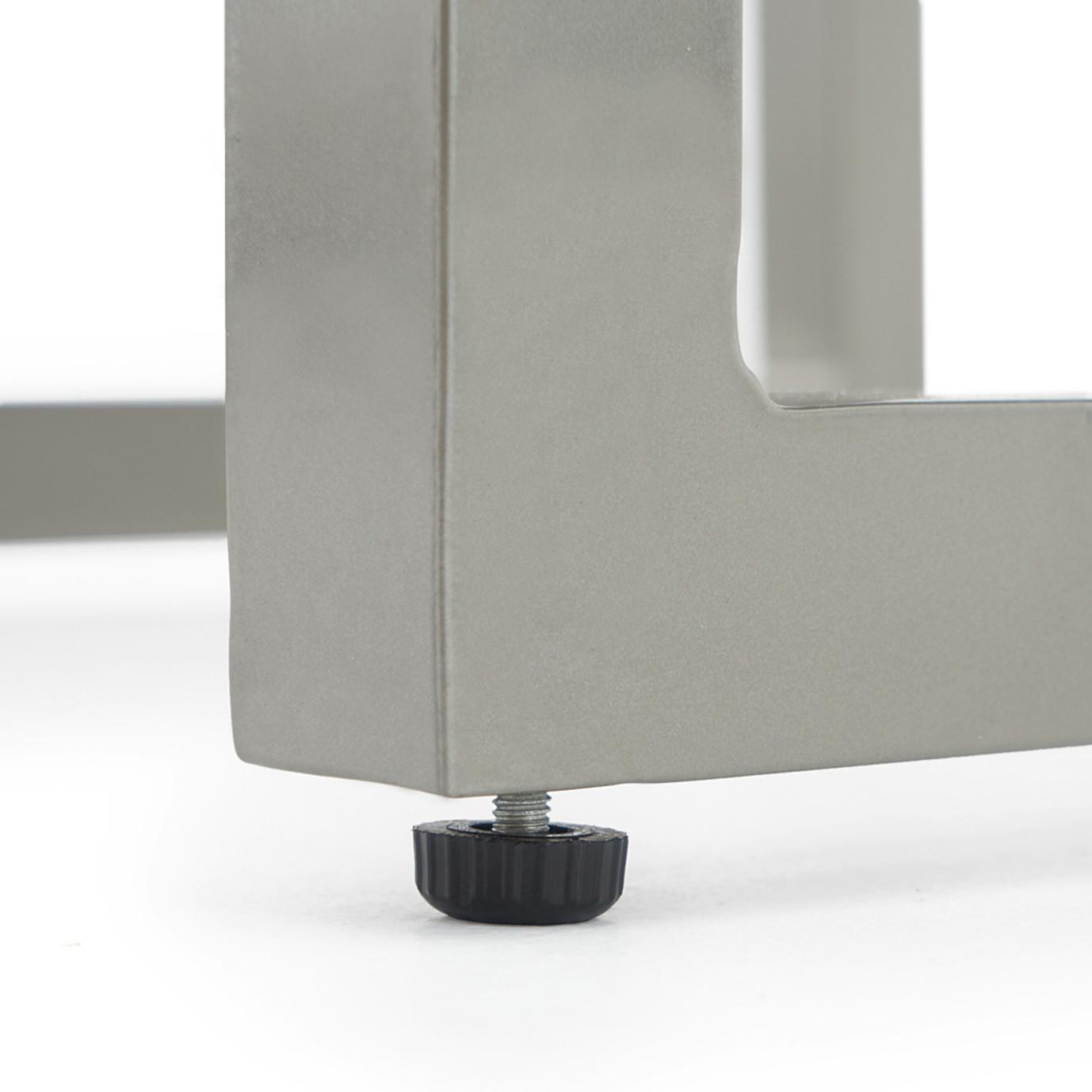 Milo Espresso 8 Piece Motion Seating Set - Spa Blue