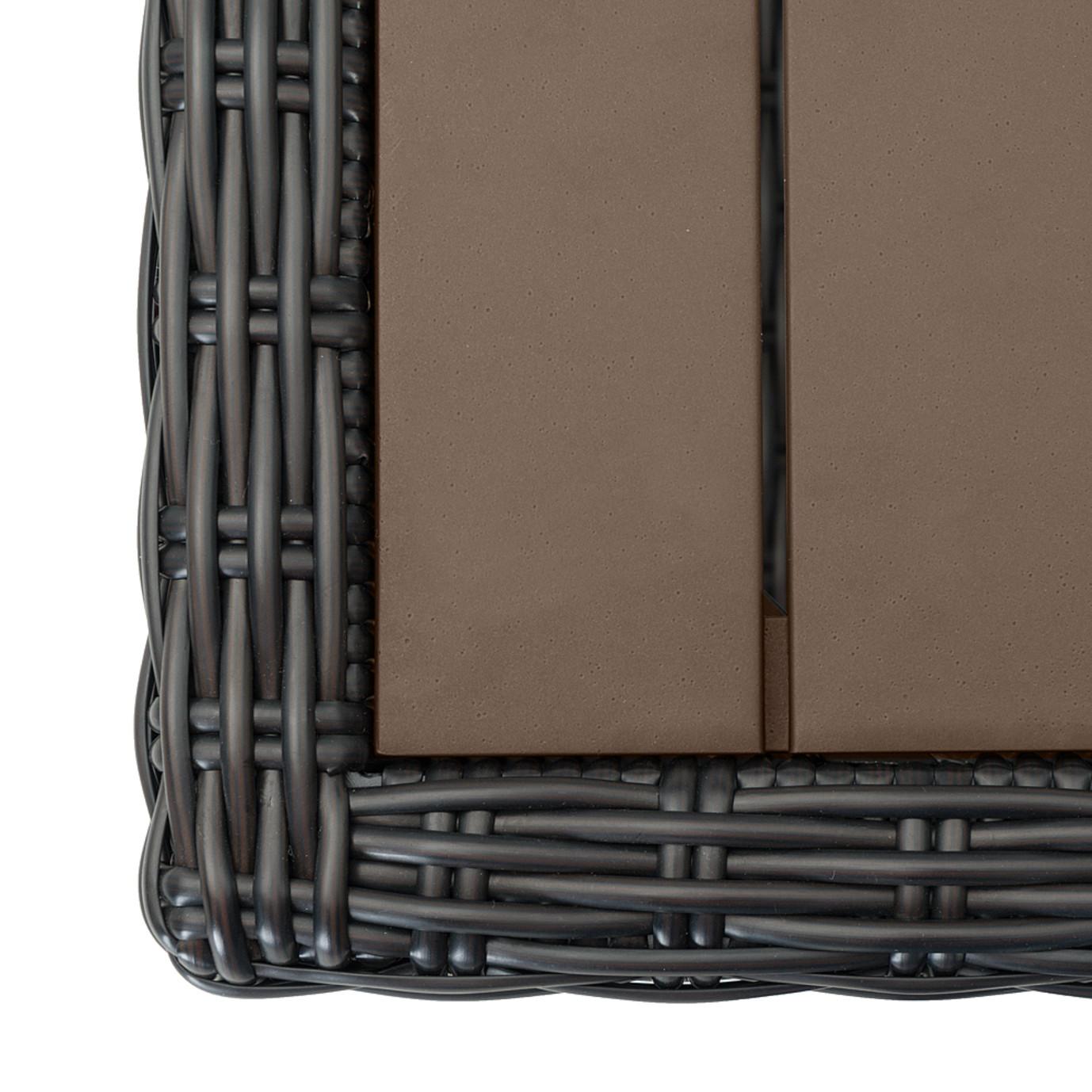 Portofino® Prestige 8pc Motion Deep Seating Set - Espresso