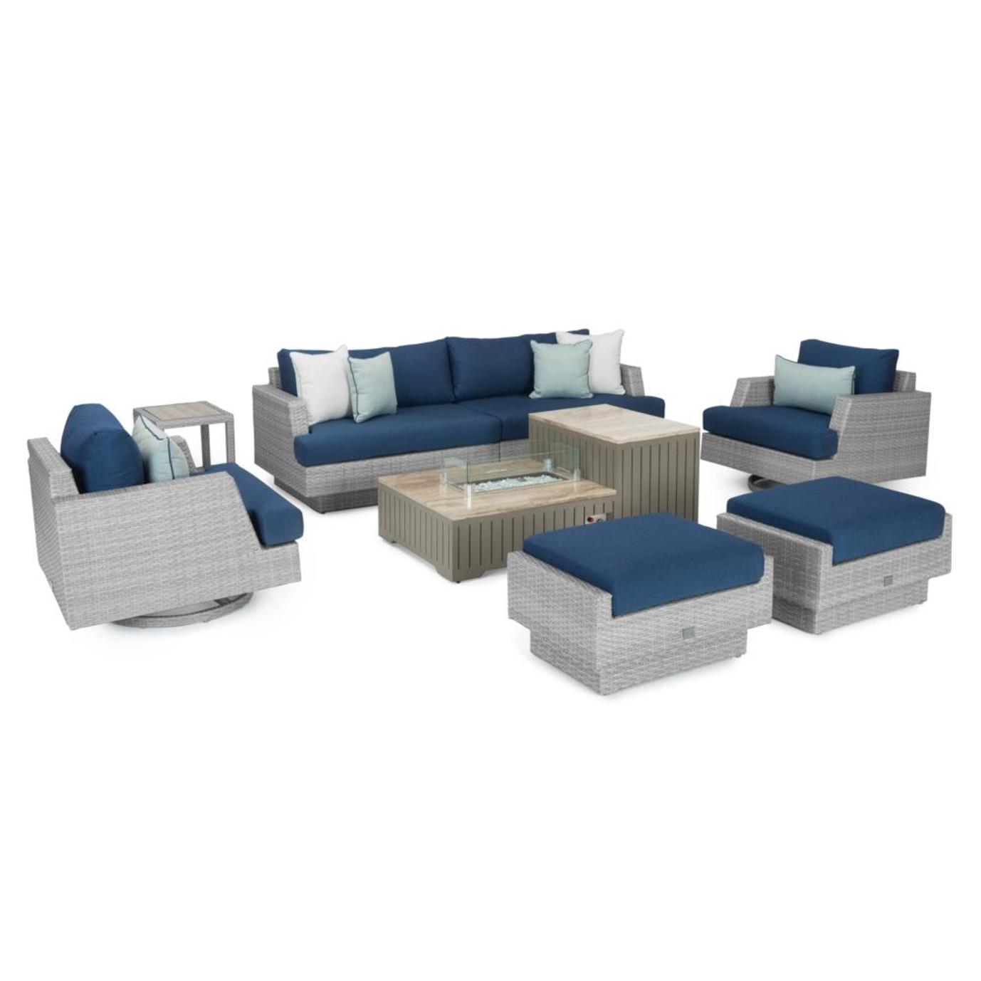 Portofino® Comfort 8 Piece Motion Fire Seating