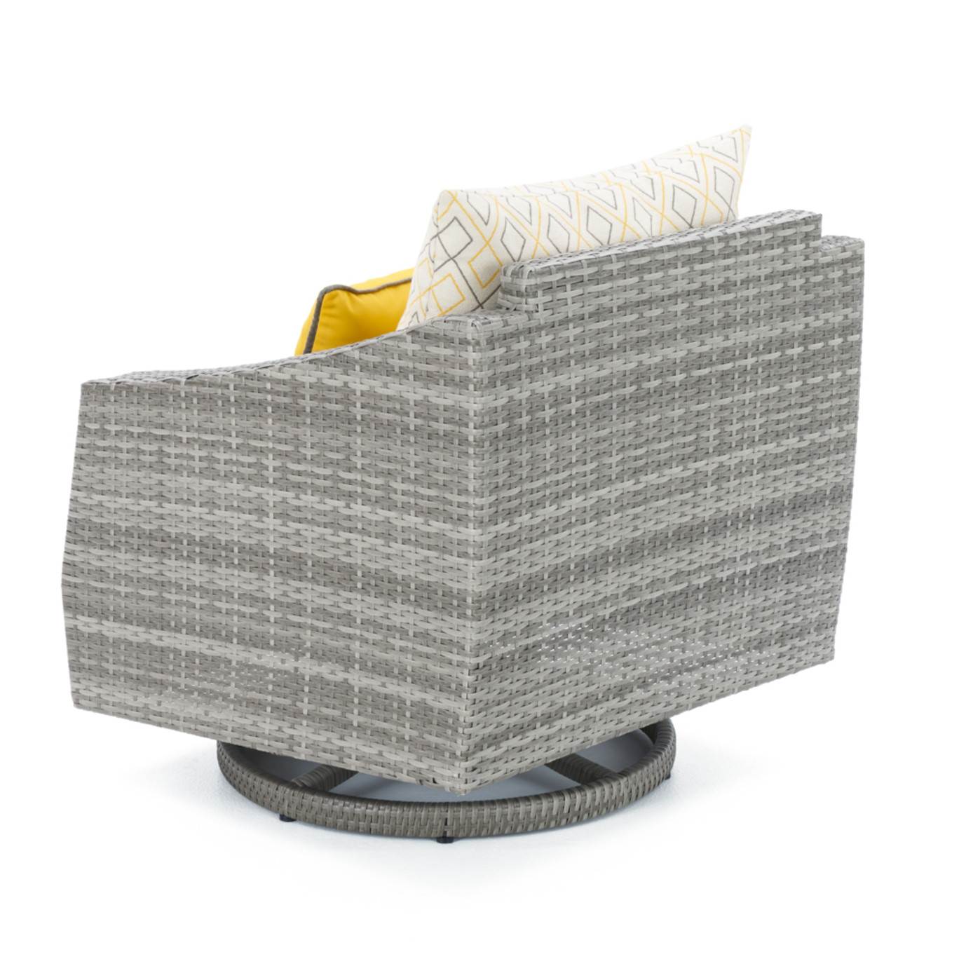 Cannes™ 8pc Sofa & Club Chair Set - Sunflower Yellow Design