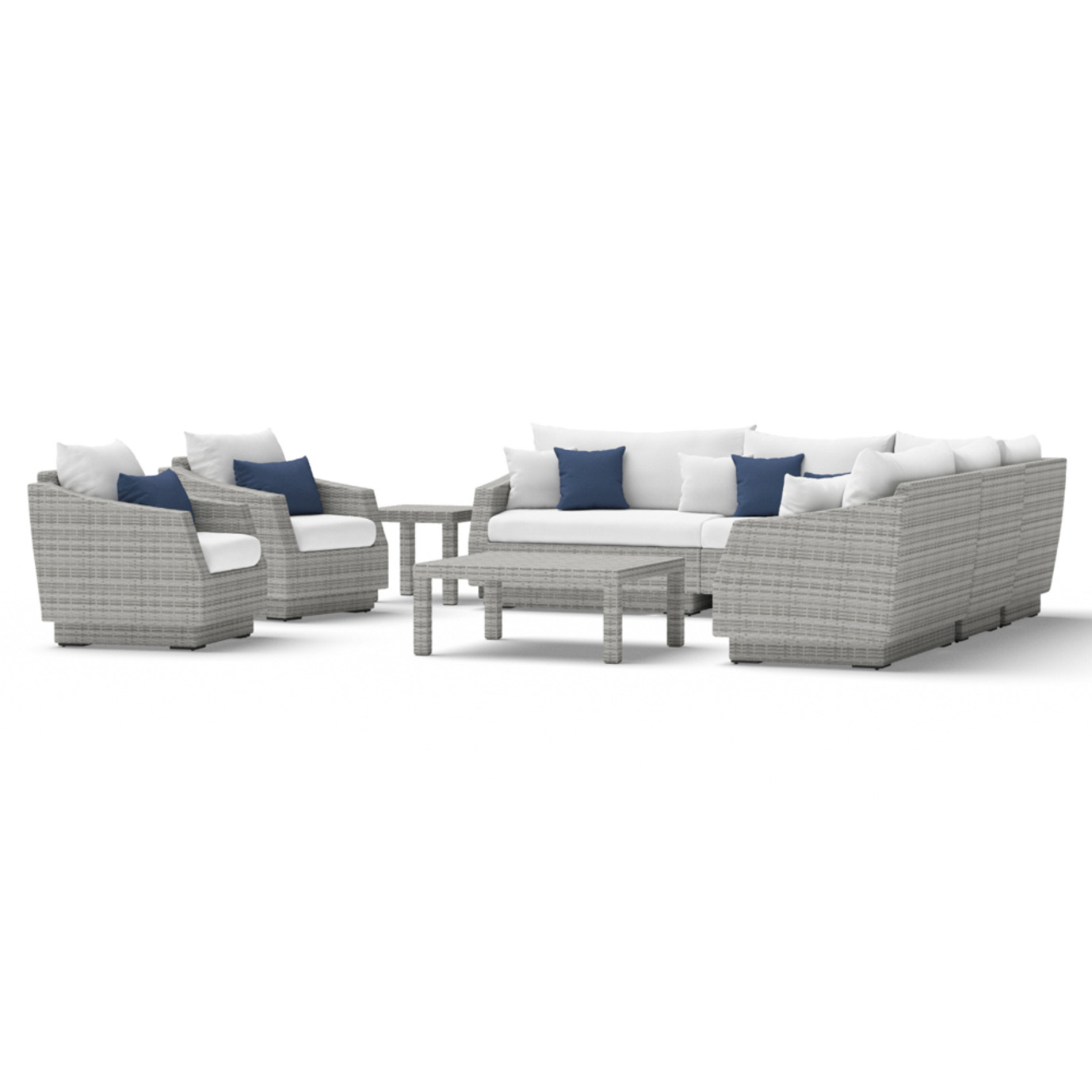 Cannes™ 9 Piece Sectional and Table