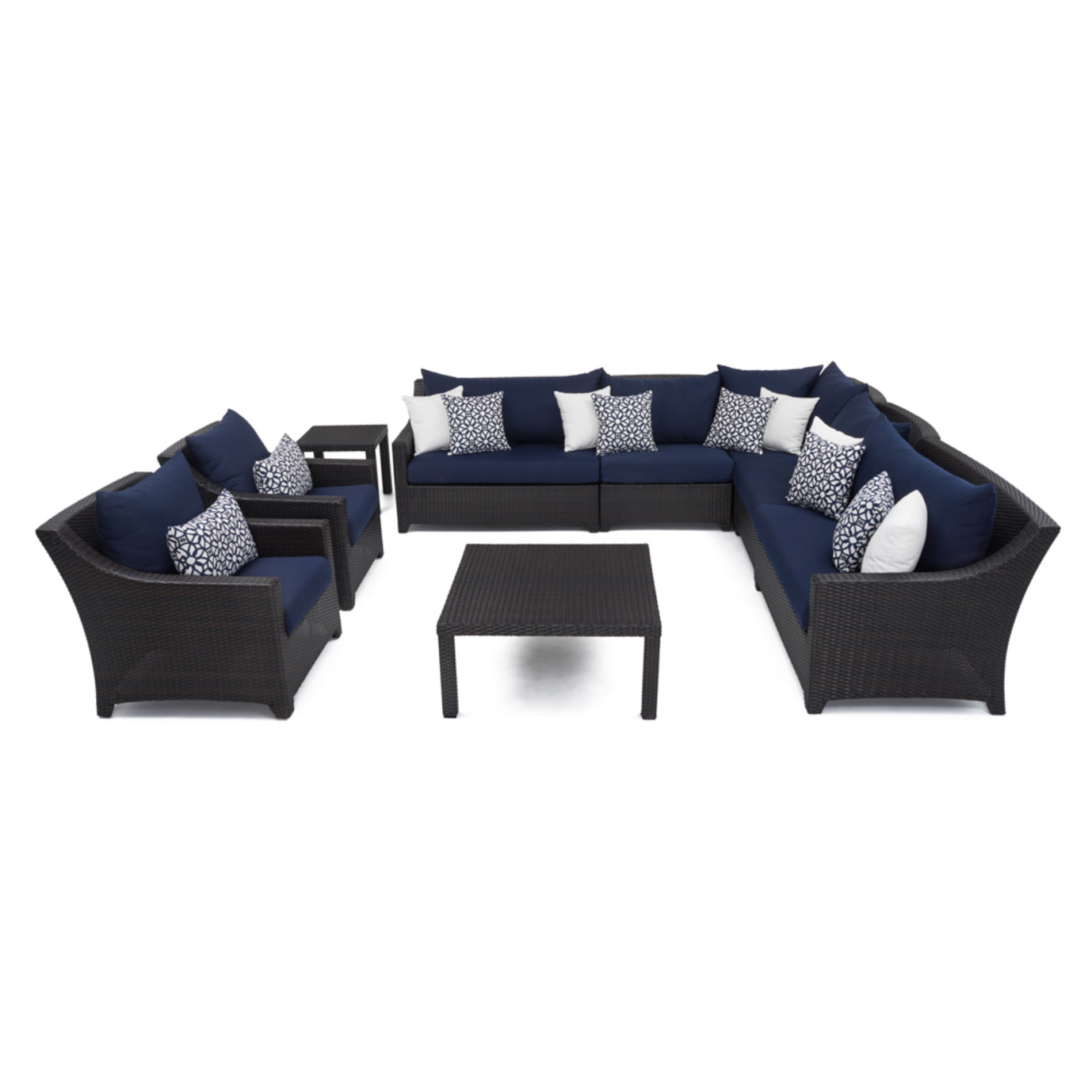 Deco™ 9 Piece Sectional and Club Set