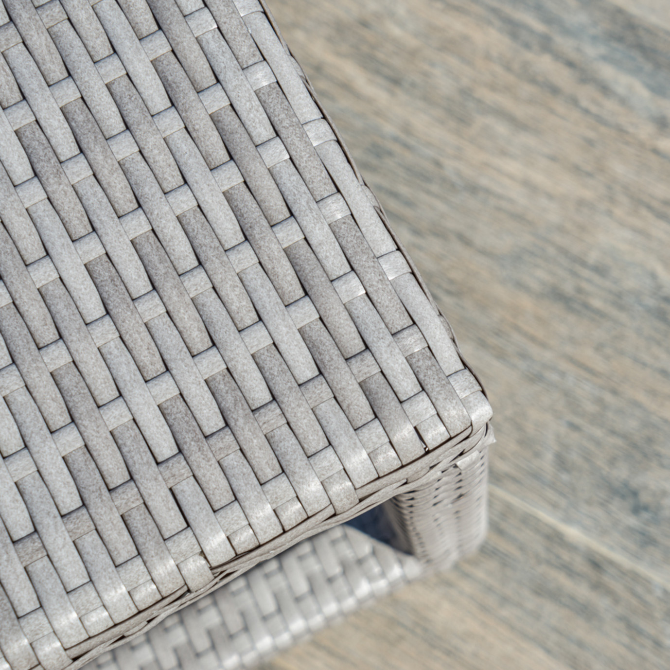 Portofino™ Comfort 22x18 Side Table - Grey