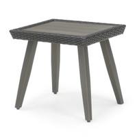 Portofino® Casual Aluminum Side Table - Espresso