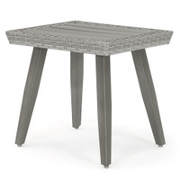 Portofino® Casual Aluminum Side Table - Gray