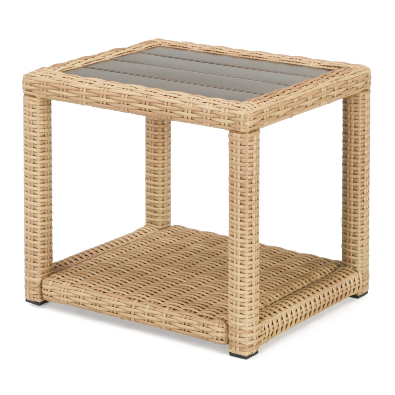 Portofino® Prestige 22x18 Aluminum Side Table - Sand
