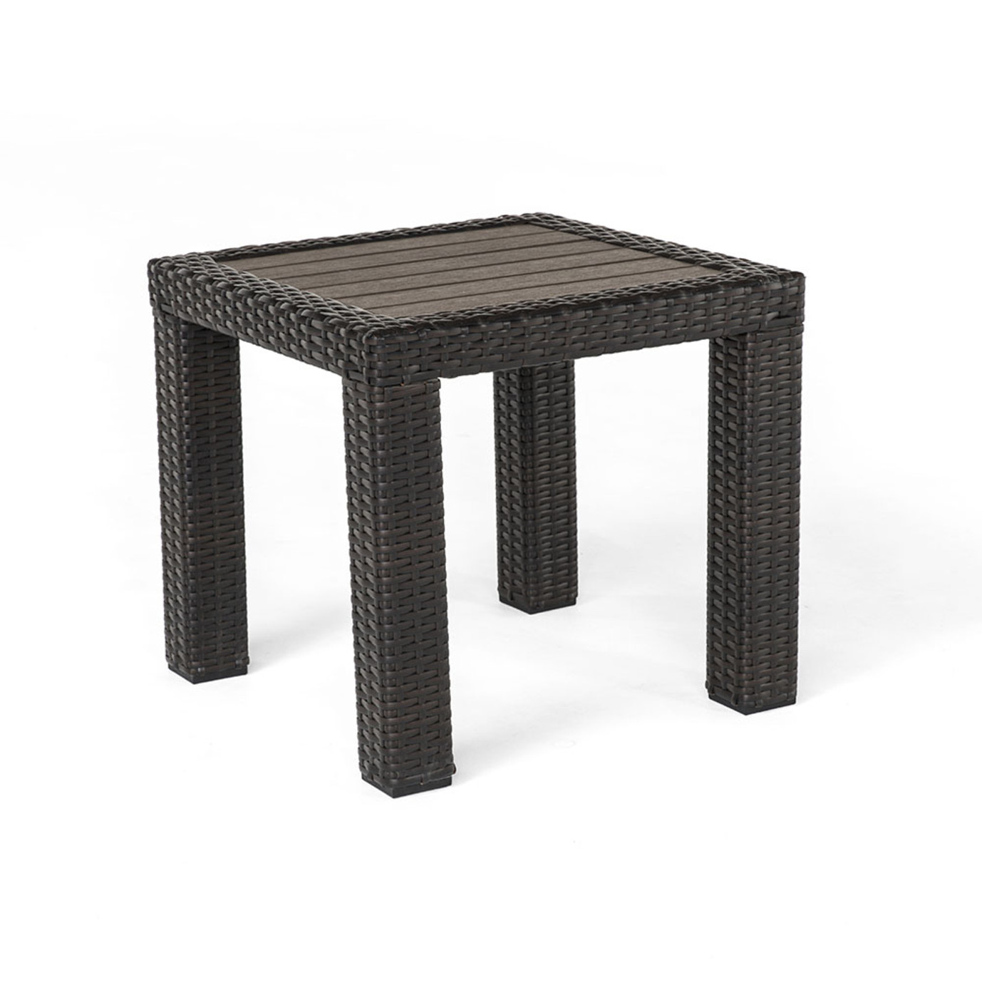 Deco™ Deluxe Wood Top Side Table