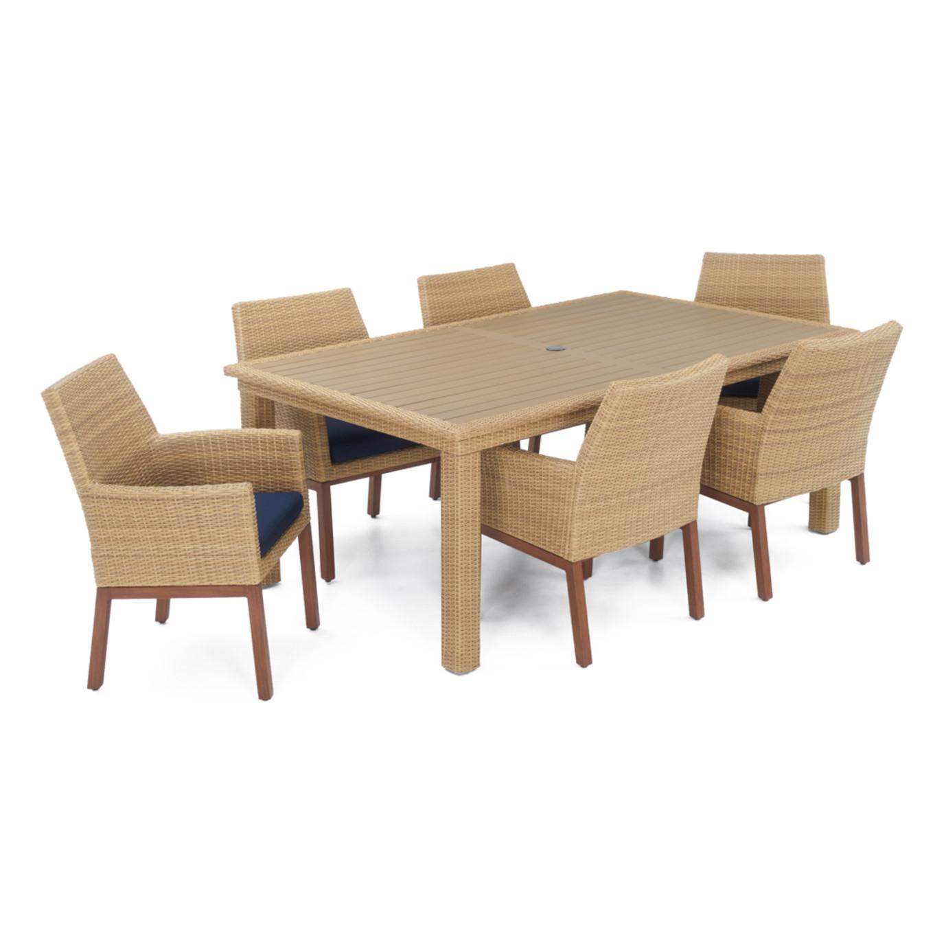 Mili™ 7pc Dining Set - Navy Blue