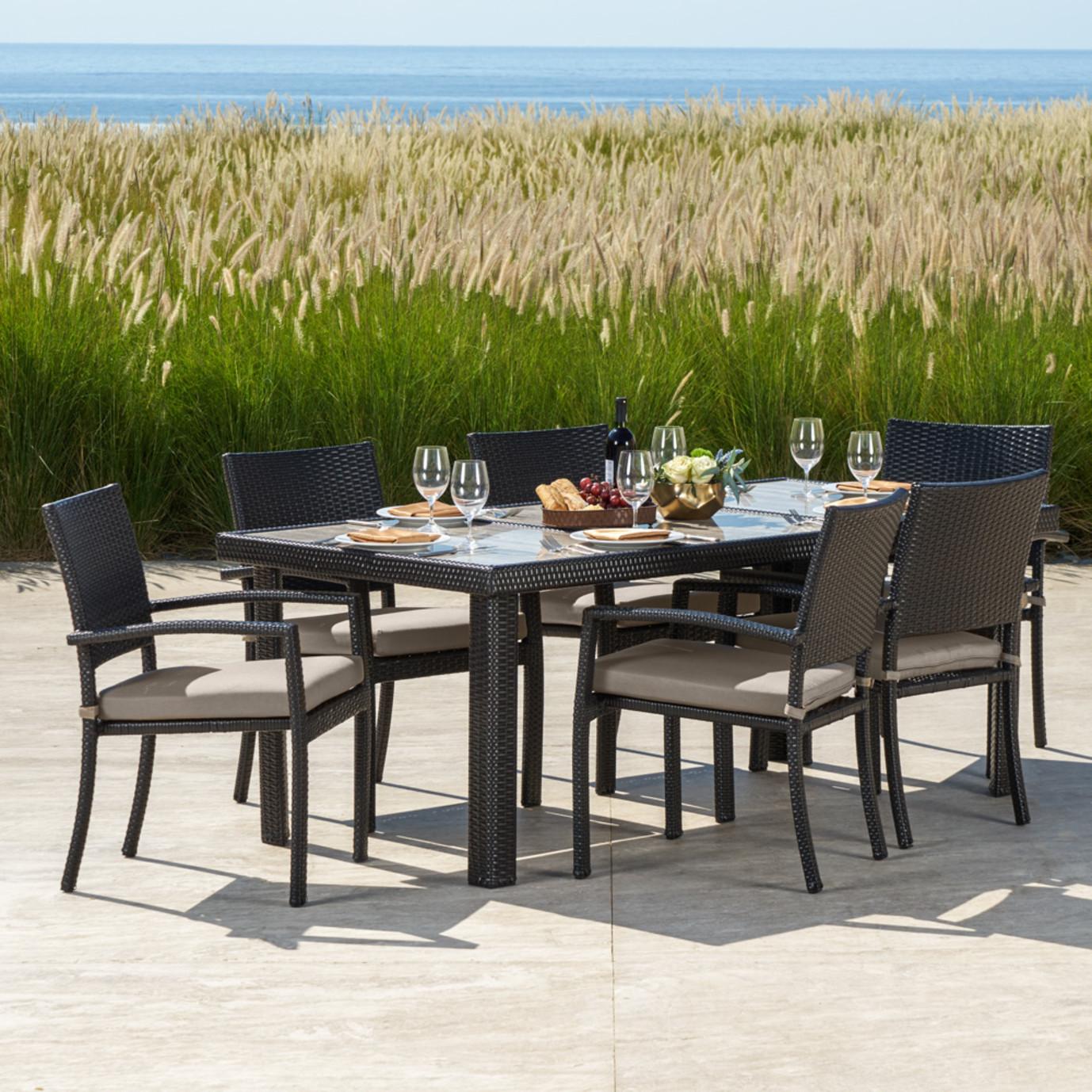 Portofino Comfort 7pc Dining Set Rst Brands
