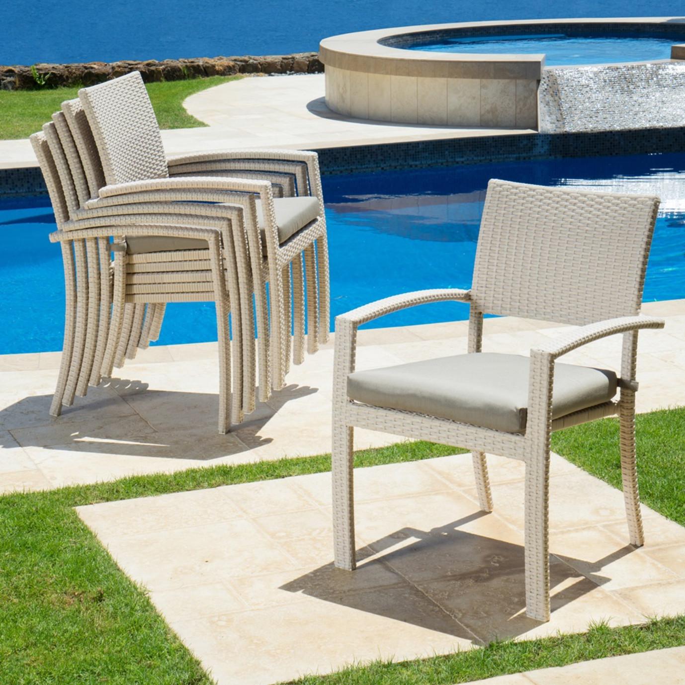 Portofino™ Comfort 6pk Dining Chairs - Kona Taupe