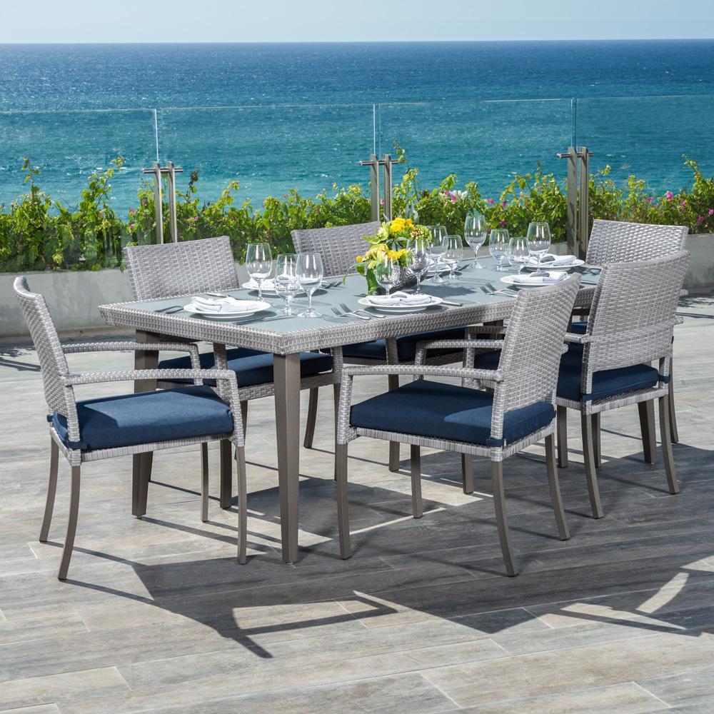 ... Portofino™ Casual 7pc Dining Set   Laguna Blue ...