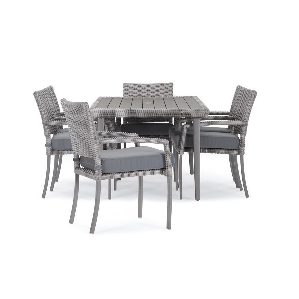 Portofino Affinity 7pc Dining Set - Charcoal Gray