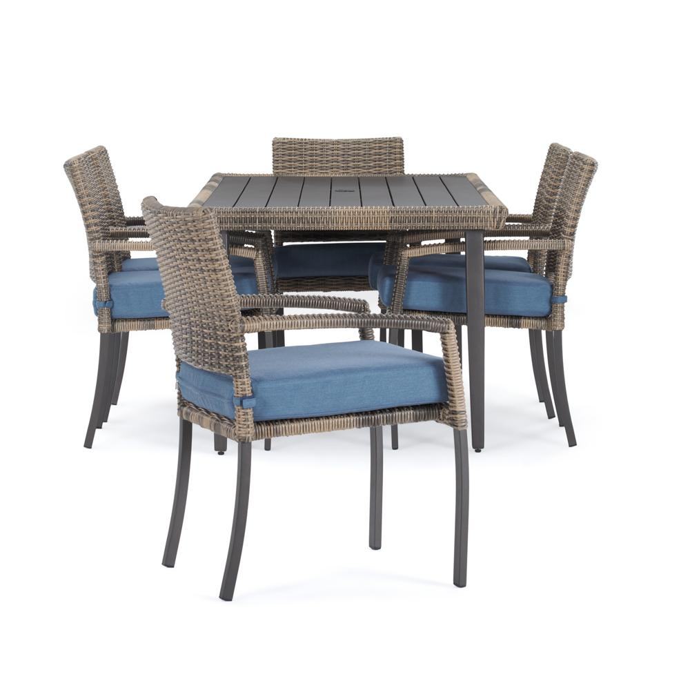 Portofino Affinity 7pc Dining Set - Newport Blue
