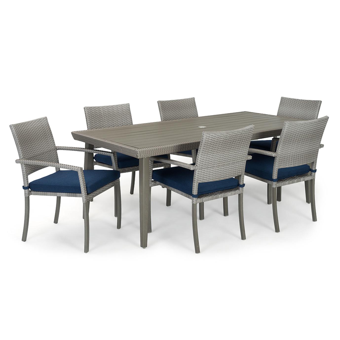 Portofino® Casual 7pc Dining Set - Laguna Blue