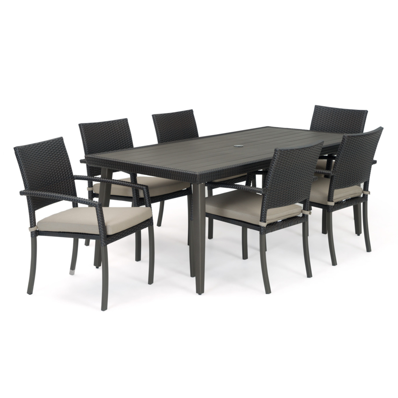 Portofino® Casual 7pc Dining Set - Taupe Mist