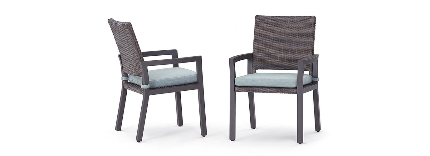 Milea™ 8pc Dining Chairs - Mist Blue