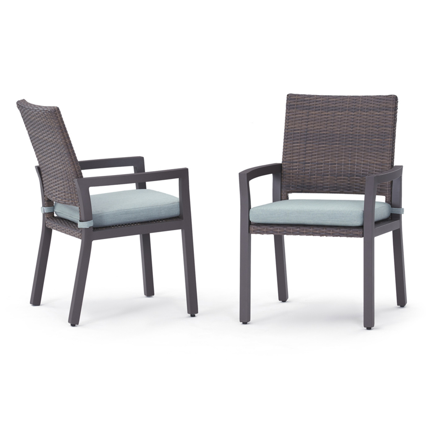 Milea 8pc Dining Chairs - Mist Blue